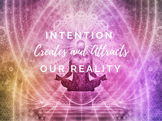 3 Powerful Steps to Create and Attract Our Reality by Writing Sacred Intentions.