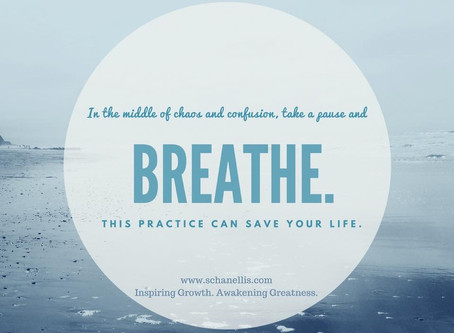 Breathe. It Will Save Your Life!