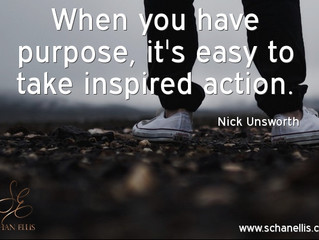When You Have Purpose, Your Steps Will Be Inspired!
