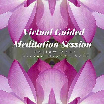 Virtual Guided Meditation Session