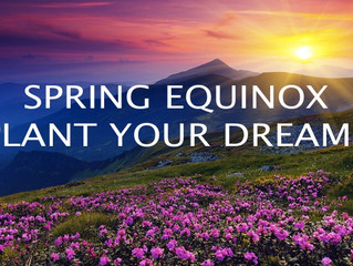 Beloved, Spring Equinox is Here. It's Time To Start Planting.