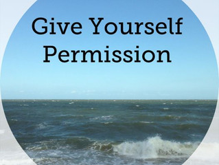 Give Yourself Permission to BE Happy!