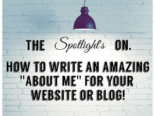"How to Write an Amazing ""About Me"" Page That Stands Out                              and is as Easy"