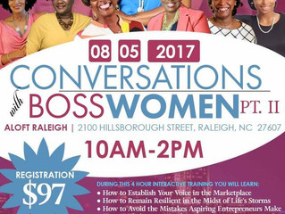 Events | Conversations with Boss Women  | Register Now!