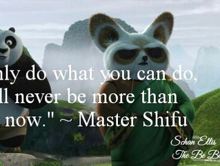 """""""If You Only Do What You Can Do, You Will Never Be More Than You Are Now."""""""