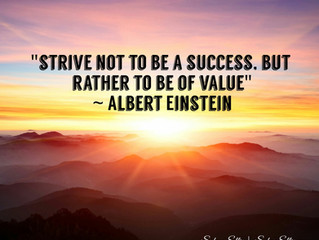 Your Monday Morning Motivational Moment | Be of Value!