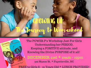 Workshop: Growing UP - The Journey to Womanhood