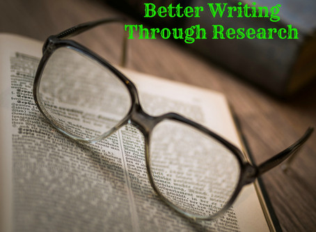 Writing Made Better Through Research!