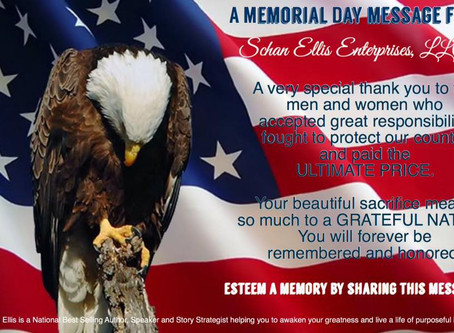 Memorial Day: A Remembrance to Pause, Pray and Love