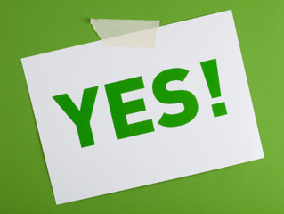 What Are You Saying Yes To Today?
