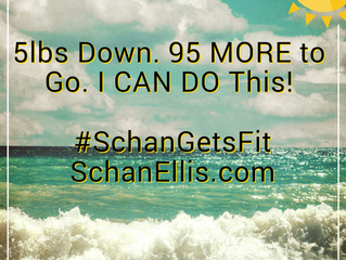 Health and Wellness | Schan Gets Fit | Week 1 Recap | 5lbs Down, 95 MORE to GO!