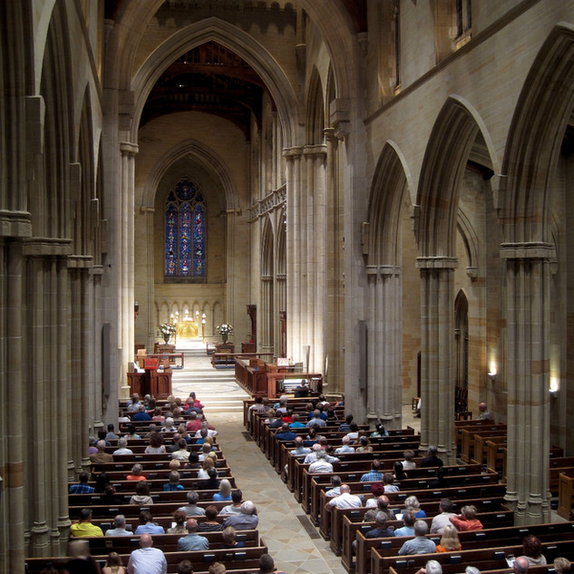 Sunset Organ Vespers at Bryn Athyn Cathedral, 9/2018