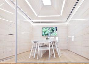 Sluneční kanceláře požehnány a otevřeny