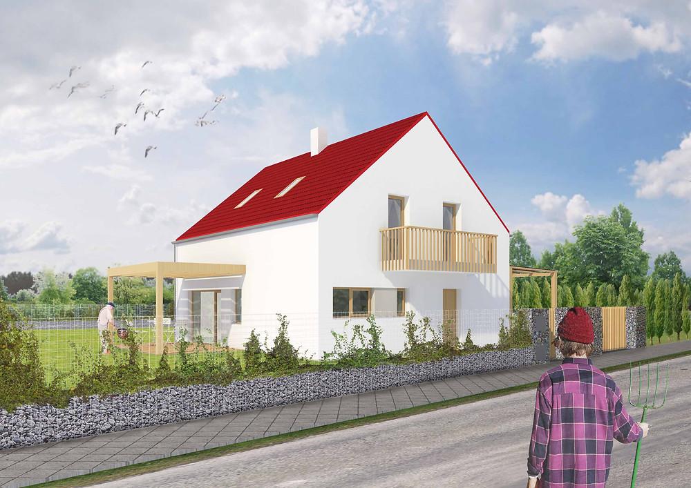 Vizualizace rodinného domu