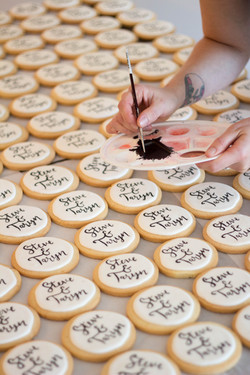 Personlized Wedding Favour Cookies