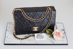Chanel Purse Black cake