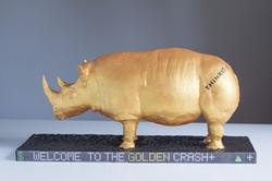 Golden Rhino Cake