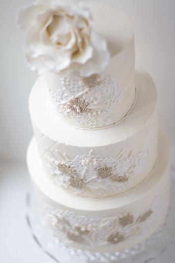 Layered Lace Cake