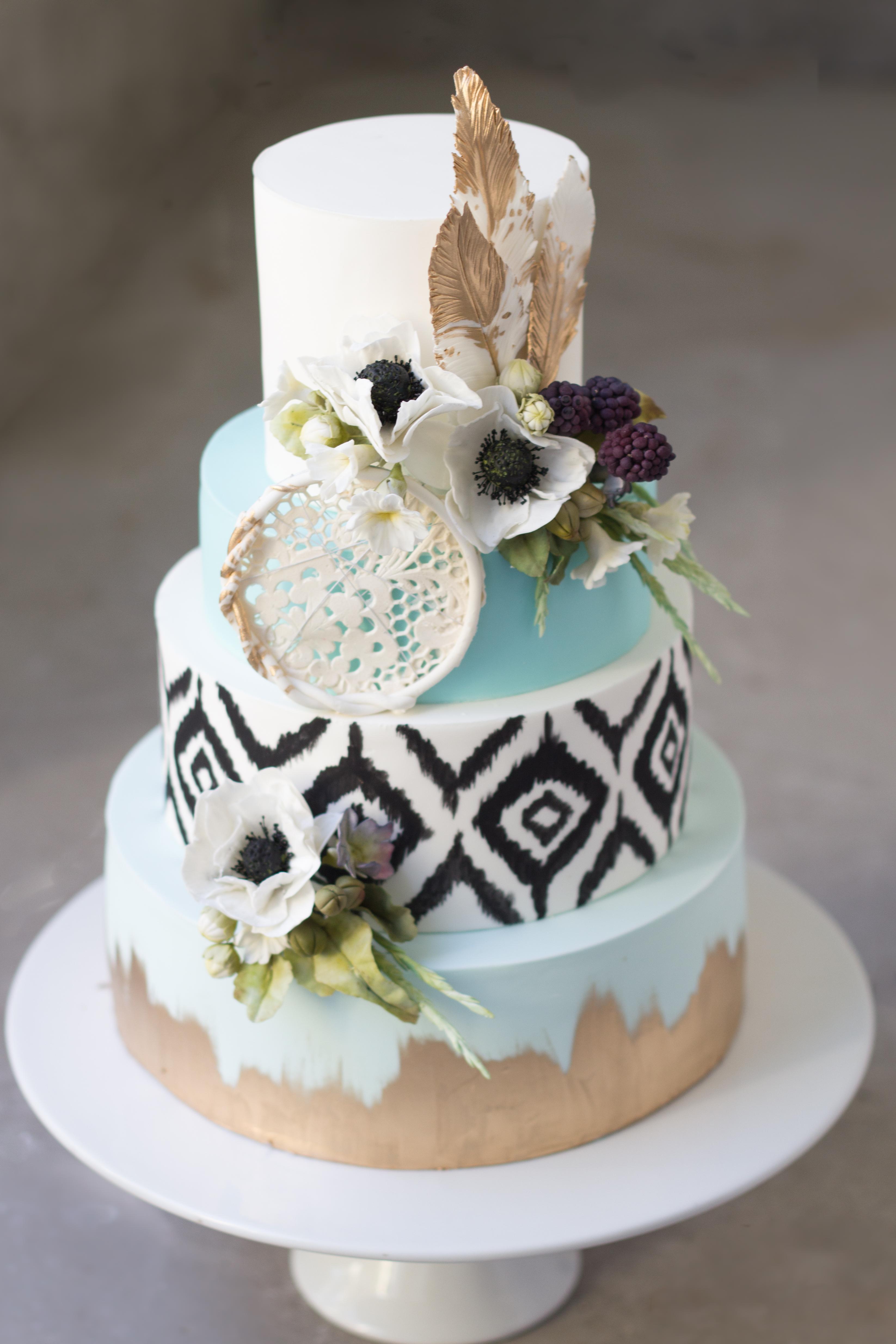 Boho cake