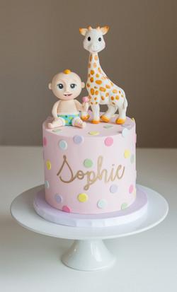 Looloo Kids Sophie Giraffe Cake