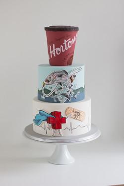 Tim Hortons Cake