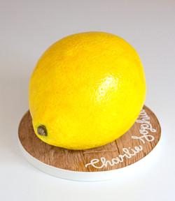 Sculpted Lemon Cake