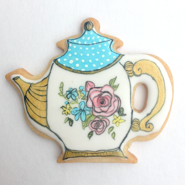 Tea Pot Cookie