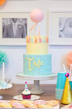 Party Balloon cake