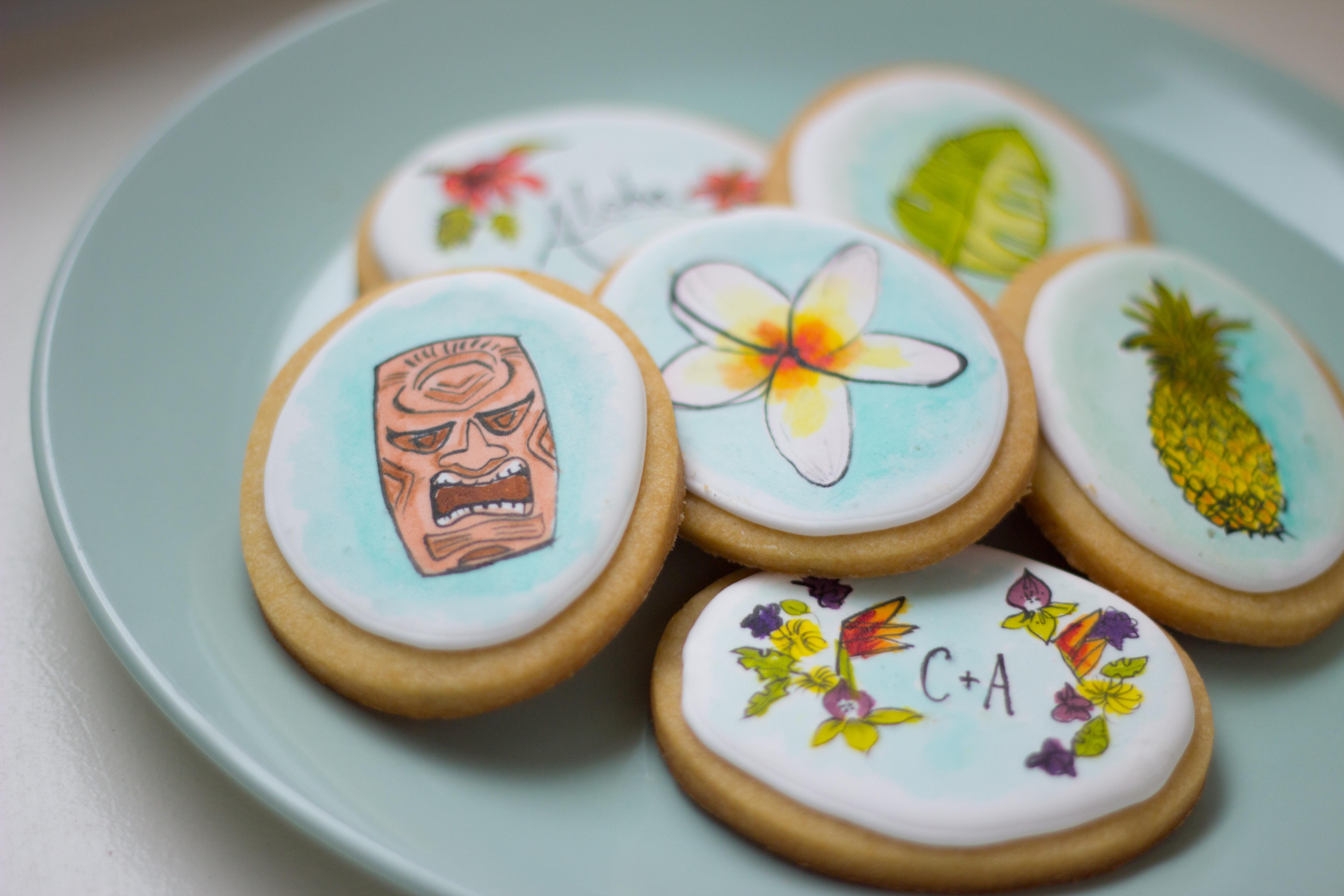 Tiki Cookies