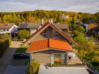 Dachaufstockung auf bestehendes Wohngebäude und Garage inkl. aller Spenglerarbeiten