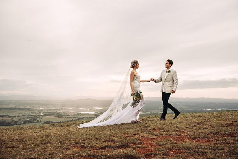 Chenaya and Brendan Mt Tamborine Wedding