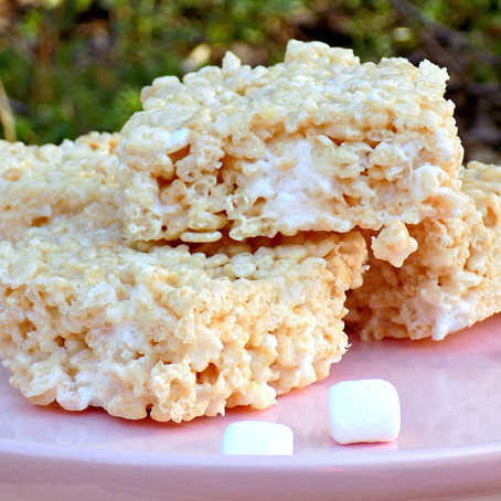 Grace and the Perfect Rice Krispies Treats!