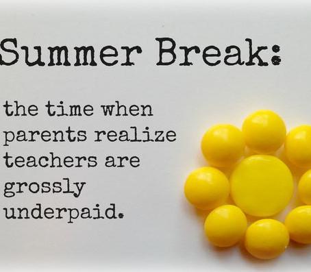 Summer Break Activities, Part II.
