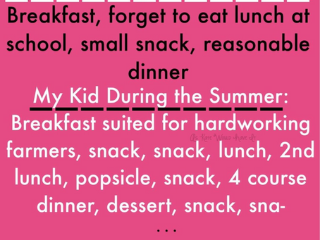 Summer Break Survival Guide: Mamas and Tiny Humans Edition.