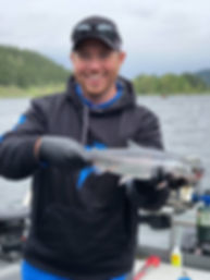 guided kokanee fishing trips in BC