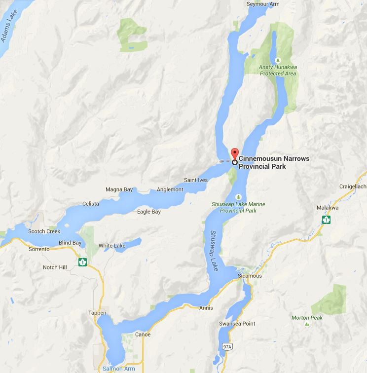 Water taxi Service on Shuswap Lake