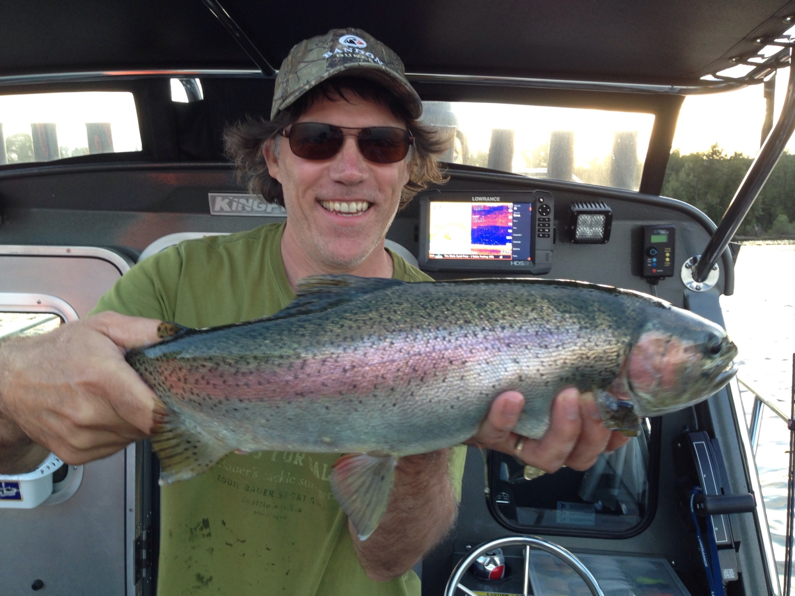 Rainbow Trout Fishing Charters