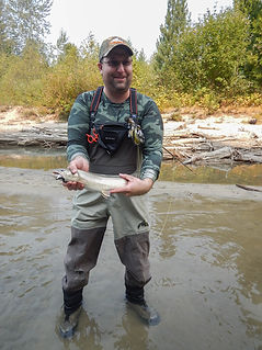 Bull trout fishing trip in BC