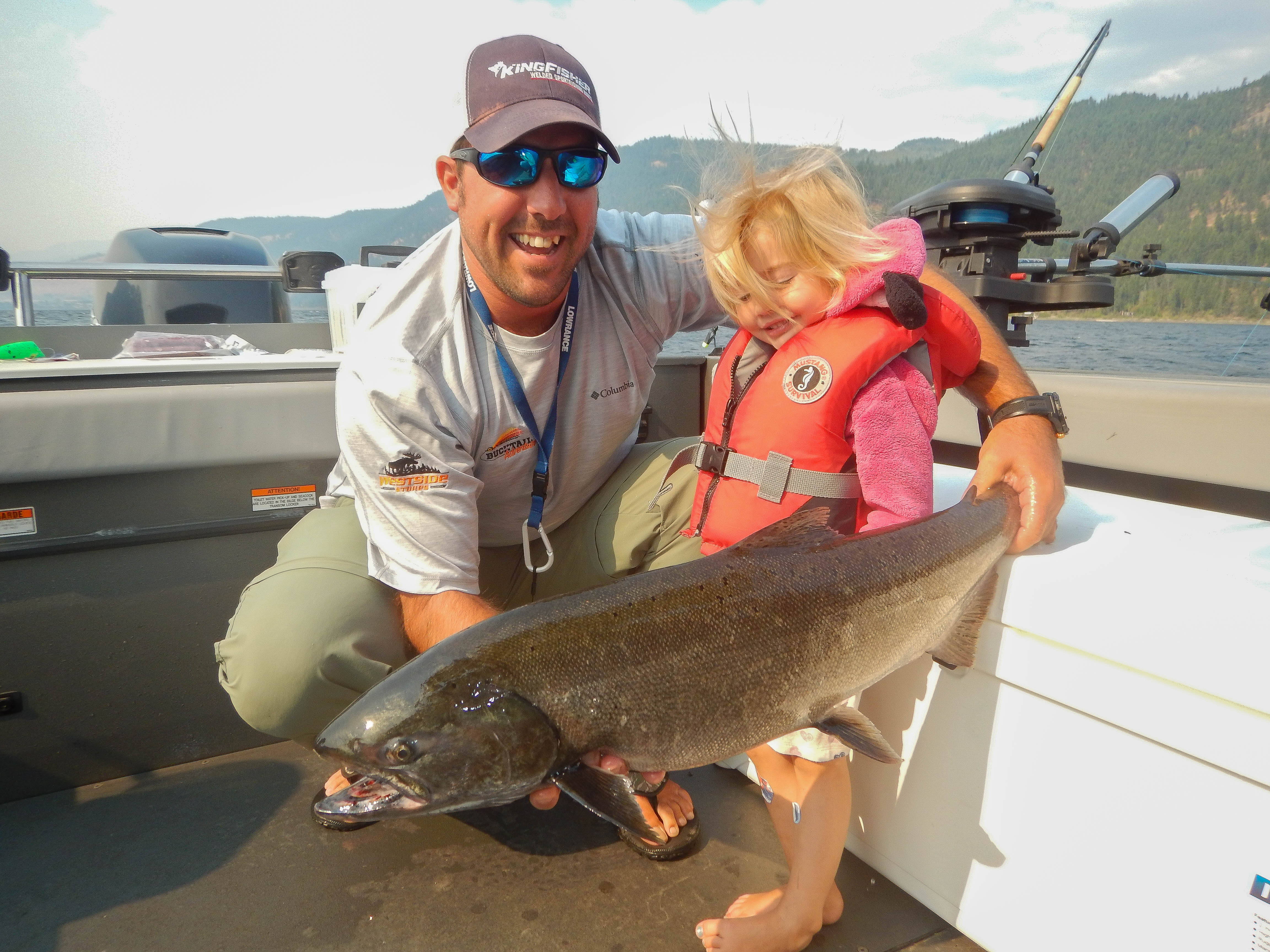 Chinook fishing for all ages