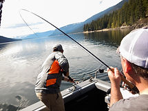 Sicamous and Shuswap Fishing Charter