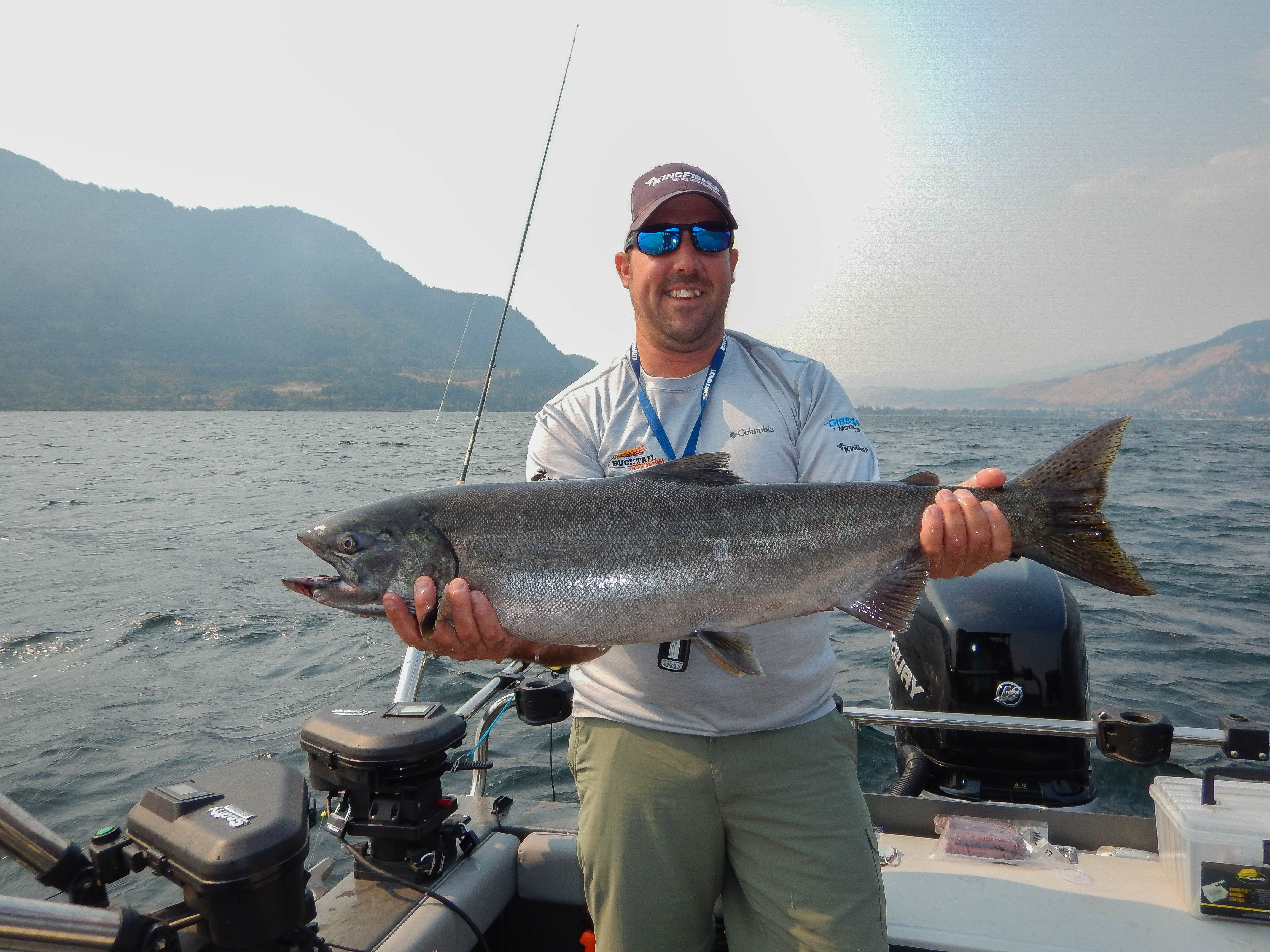 Chinook Fishing charter
