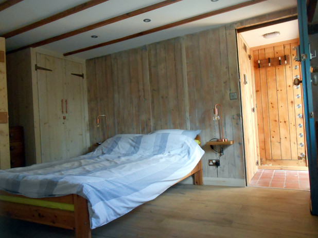 Bedroom and private entrance