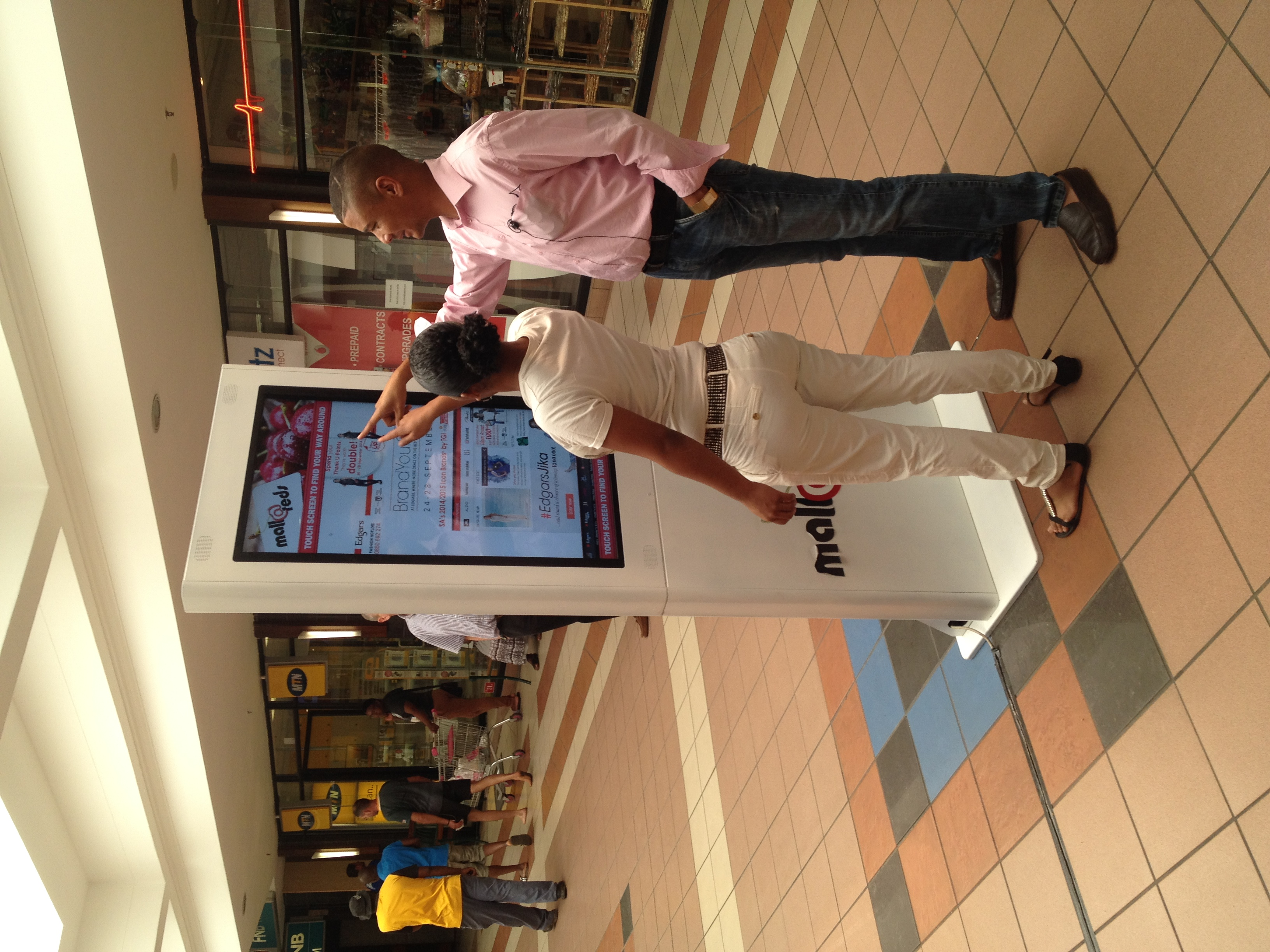 Mall Wayfinder Touch Screen