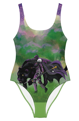 Black Panther One Piece Swimsuit