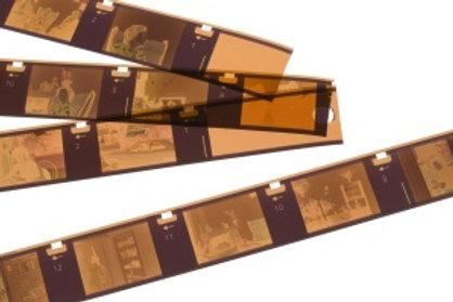 Pocket formaat negatieven (13x17mm)