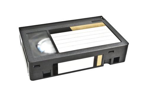 VHS-C band overzetten