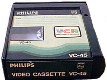 VCR band overzetten
