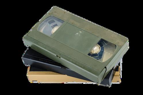 VHS band overzetten