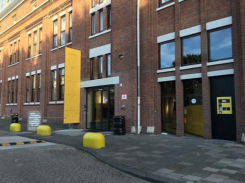 Ingang Bink36 gebouw