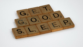 Sleeping like a baby isn't my goal.